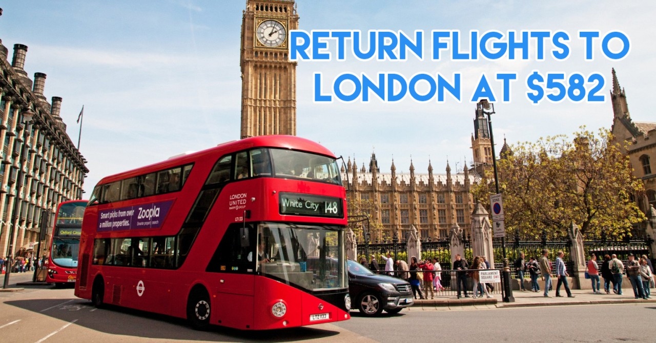 cheap flights to london from singapore