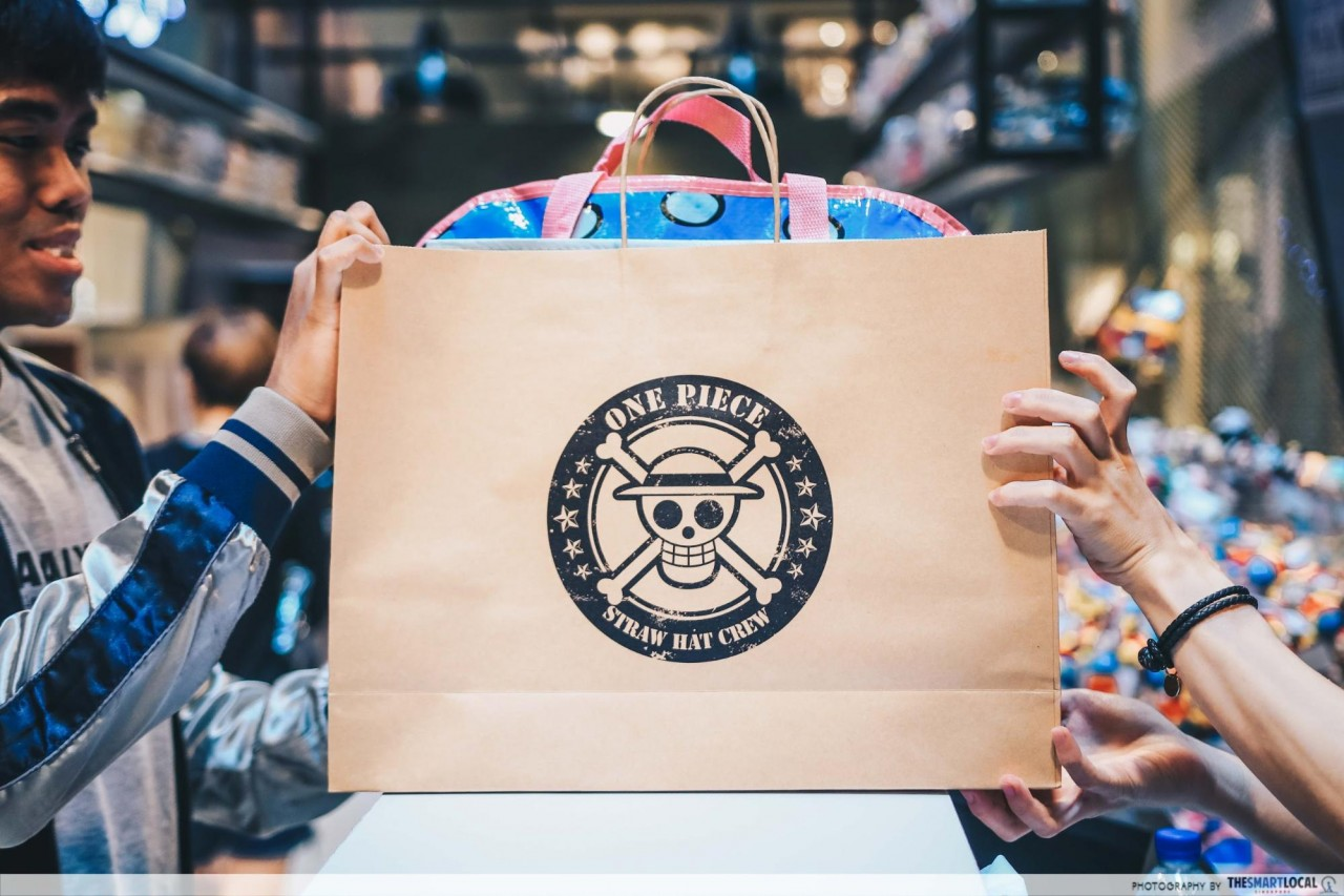 One Piece Pop-Up store - Goodie bags