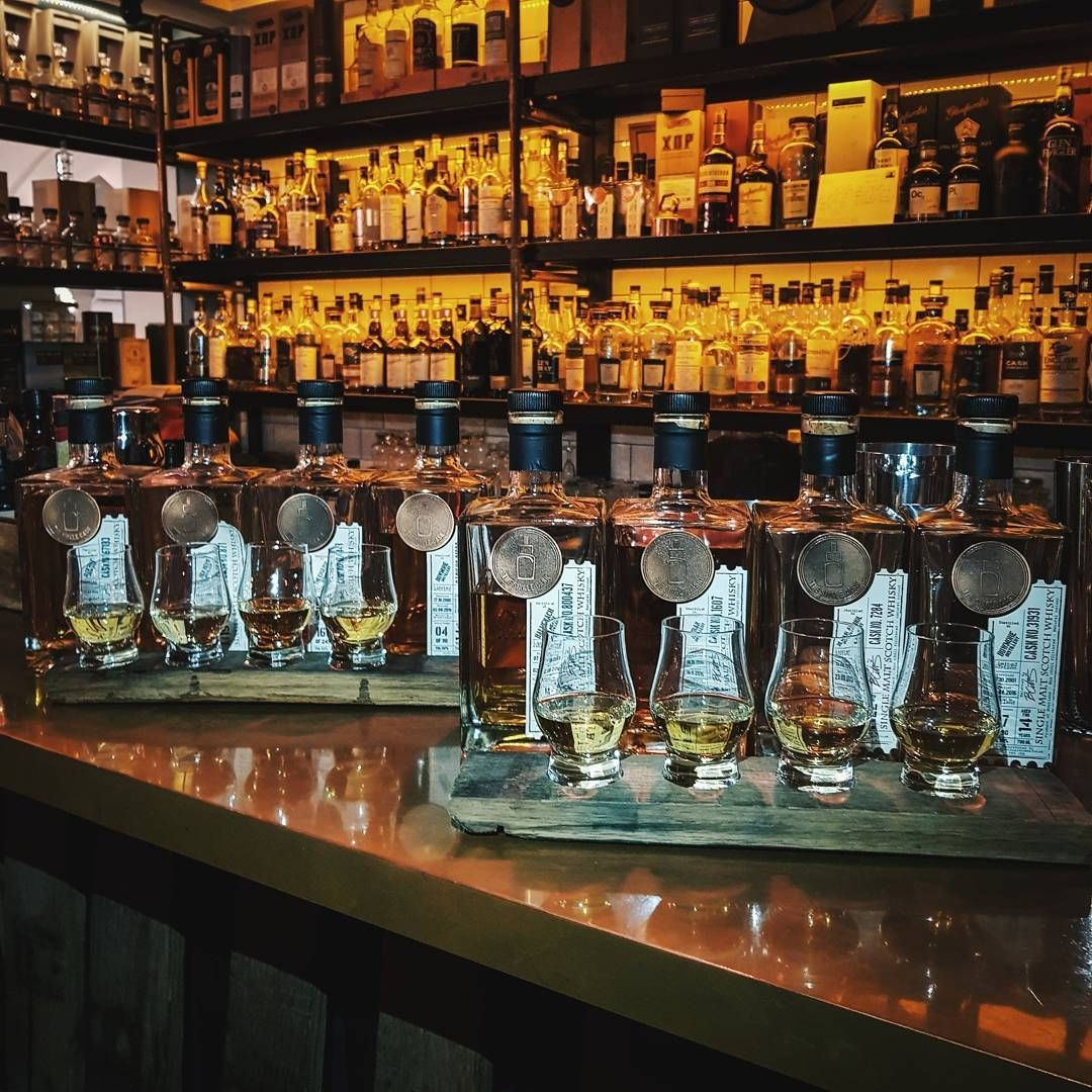 Whisky Flights at The Single Cask
