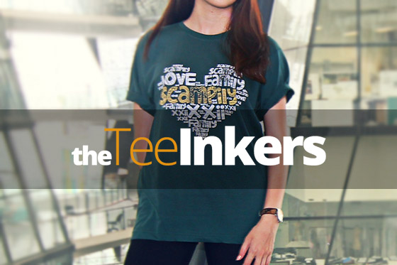T-shirt customisation - The Tee Inkers