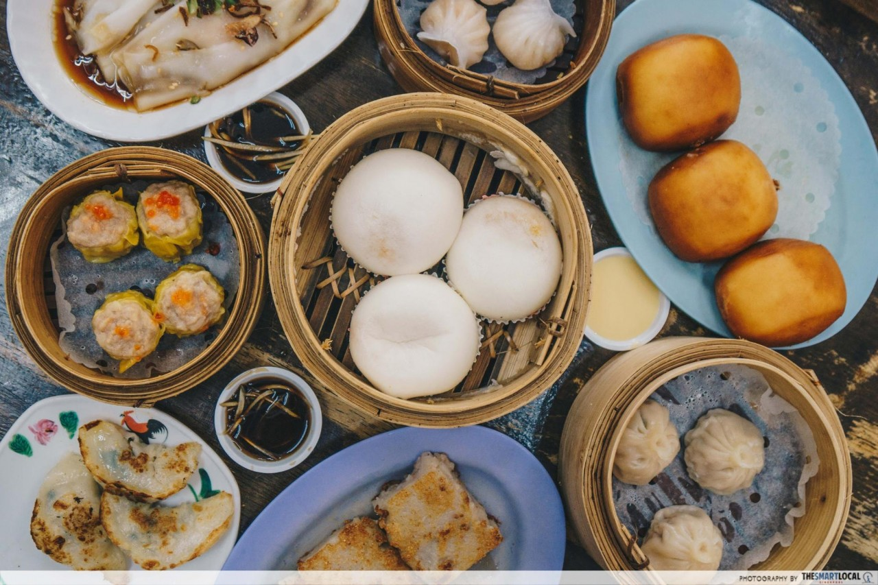 Food In Sembawang - Wong Chiew Restaurant Dim Sum