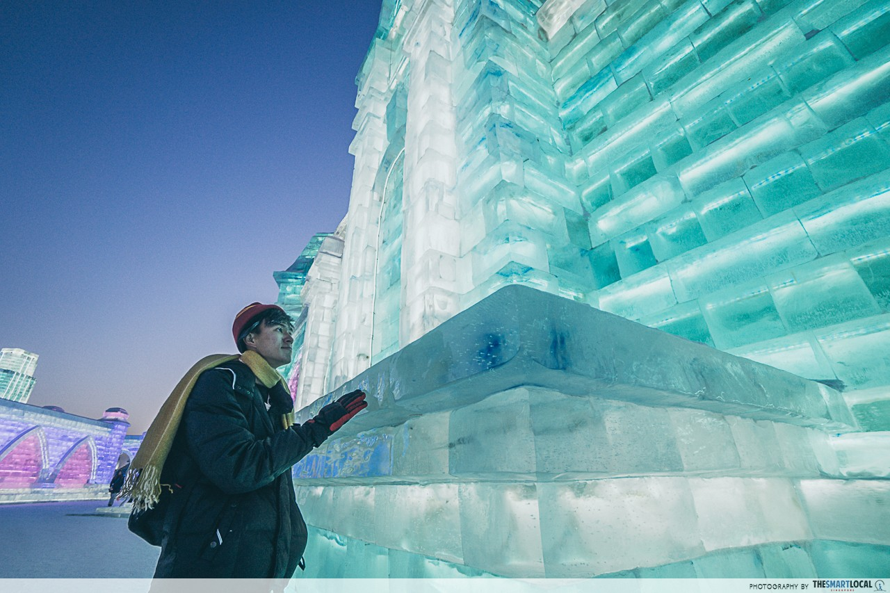 Harbin - Ice and Snow World frozen architecture light display