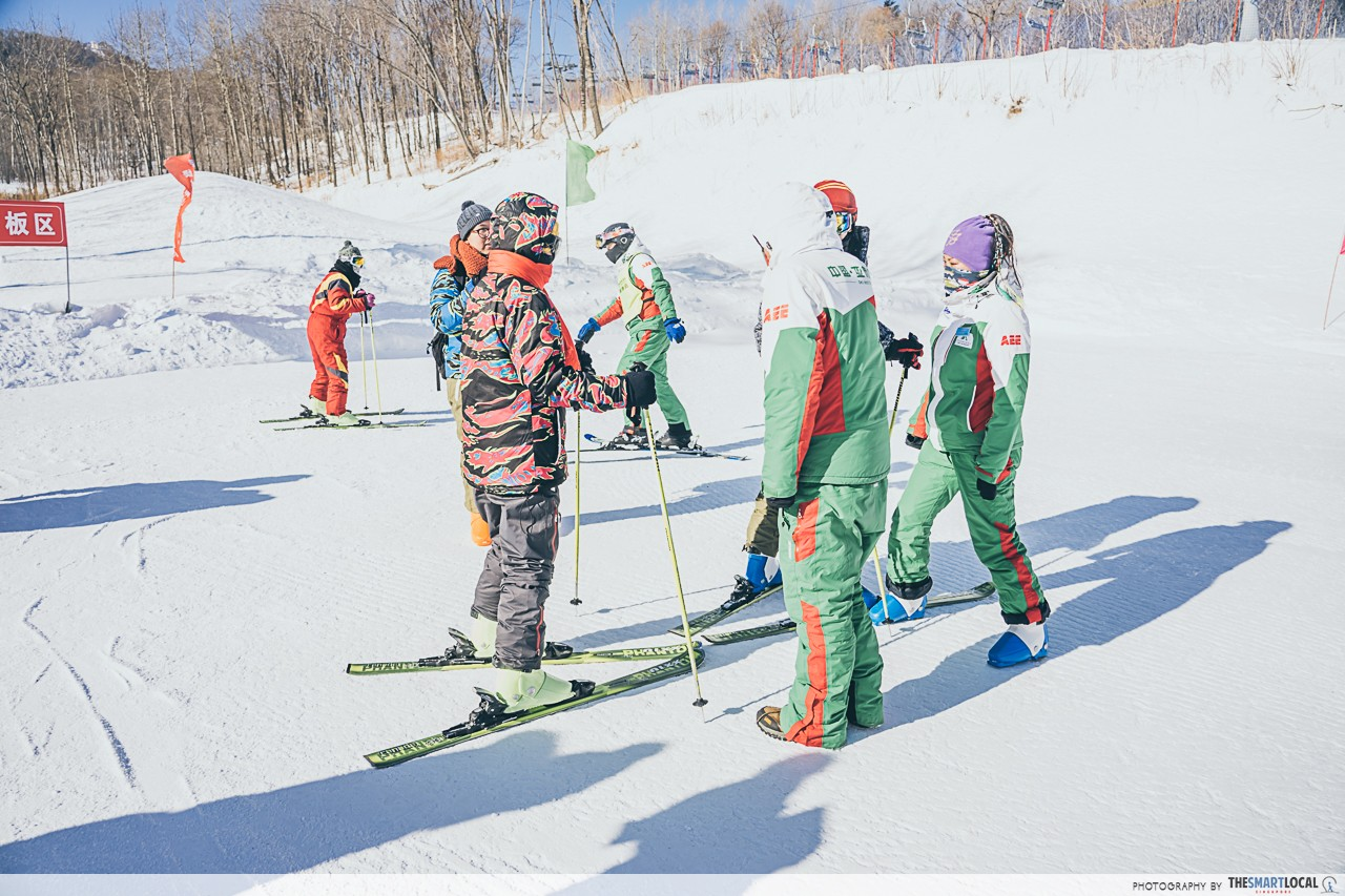 Harbin - Yabuli Ski Resort with coaching