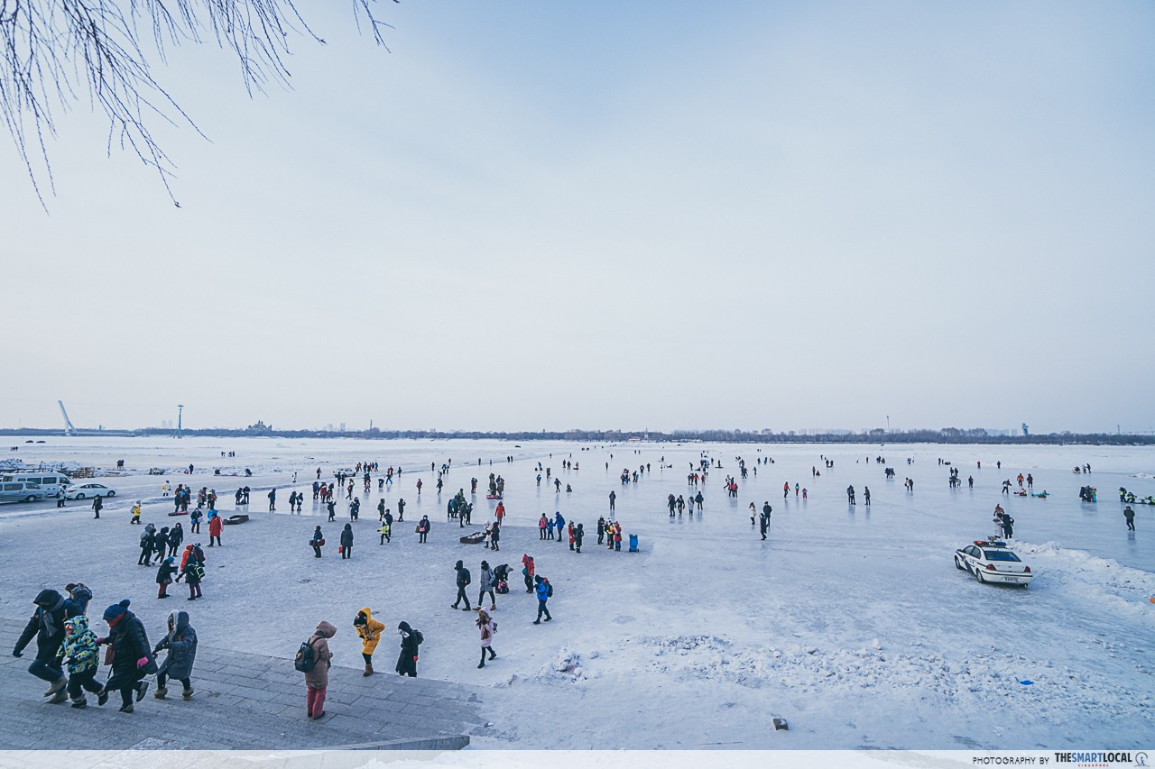 Harbin - Songhua River Ice Skating