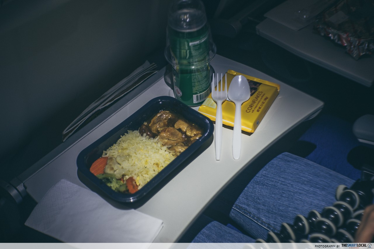 Harbin - Scoot in-flight food