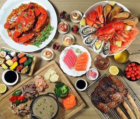 dinner buffet 50% discount off hotel singapore marriott tang plaza hotel