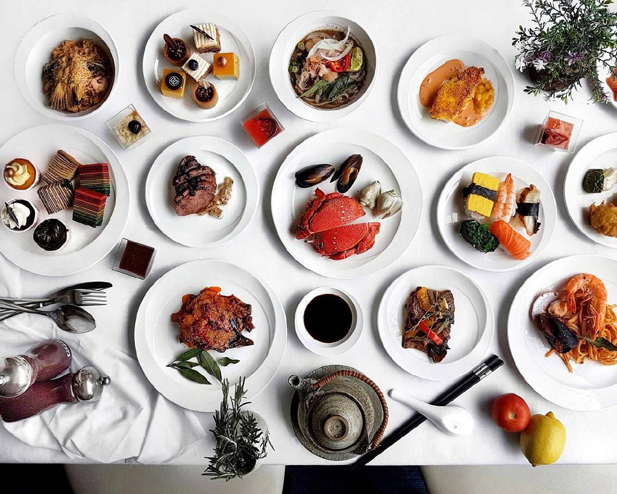 dinner buffet 50% discount off hotel marina mandarin singapore