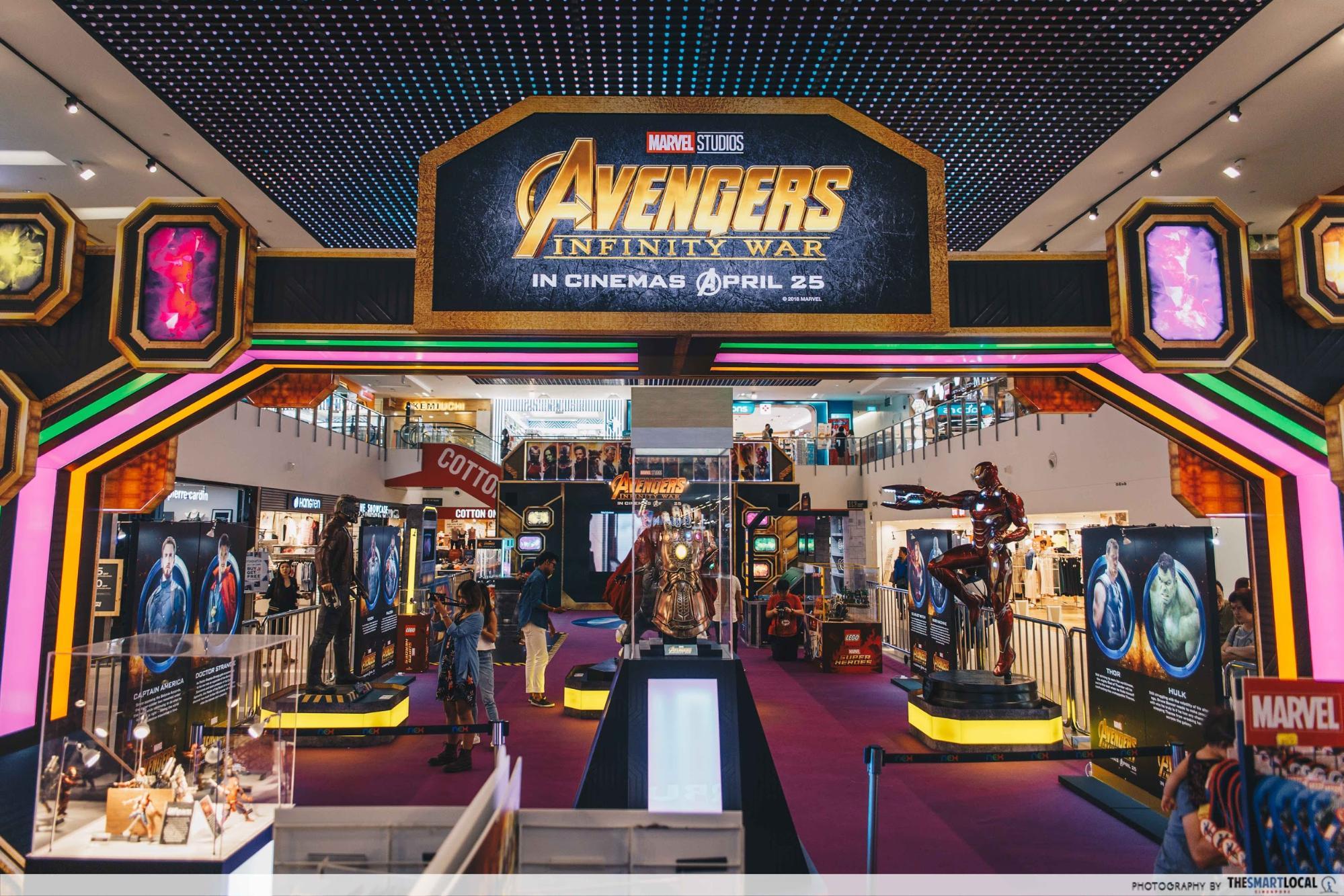 Nex Avengers - Avengers Event Facade