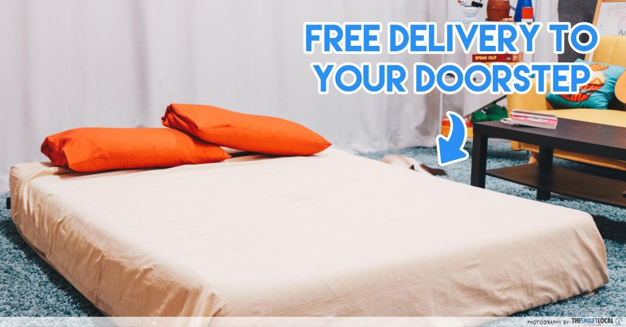 haylee mattress singapore free 2 hour delivery
