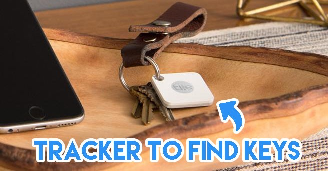 Tracker to find keys