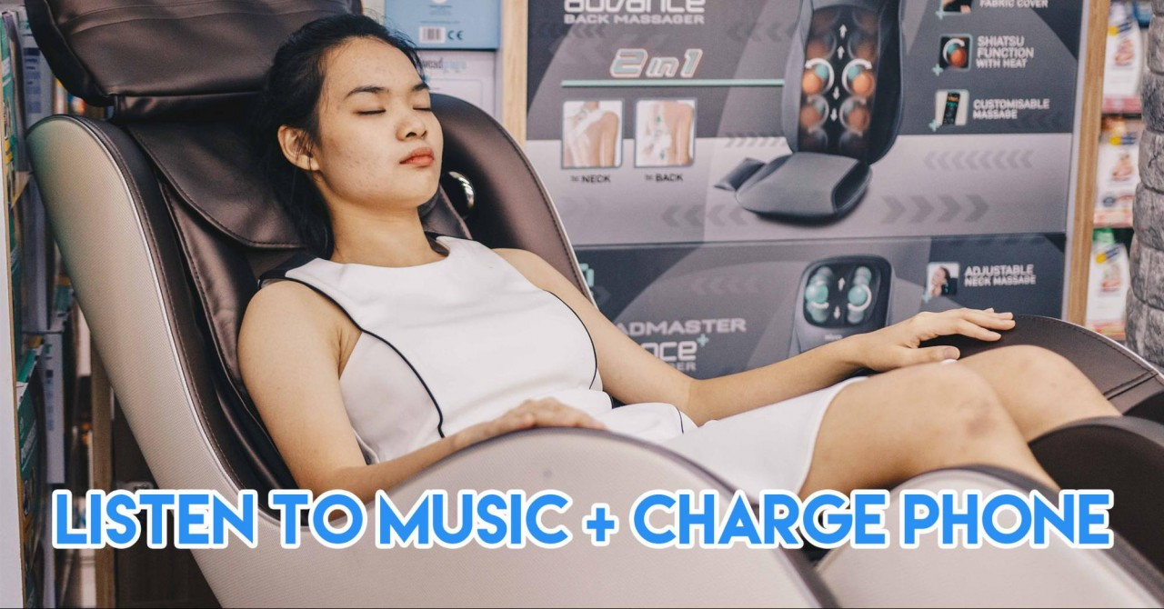 The MiuDelight V2 Massage Chair Has Heat Therapy, A Charging Station and Bluetooth Speakers