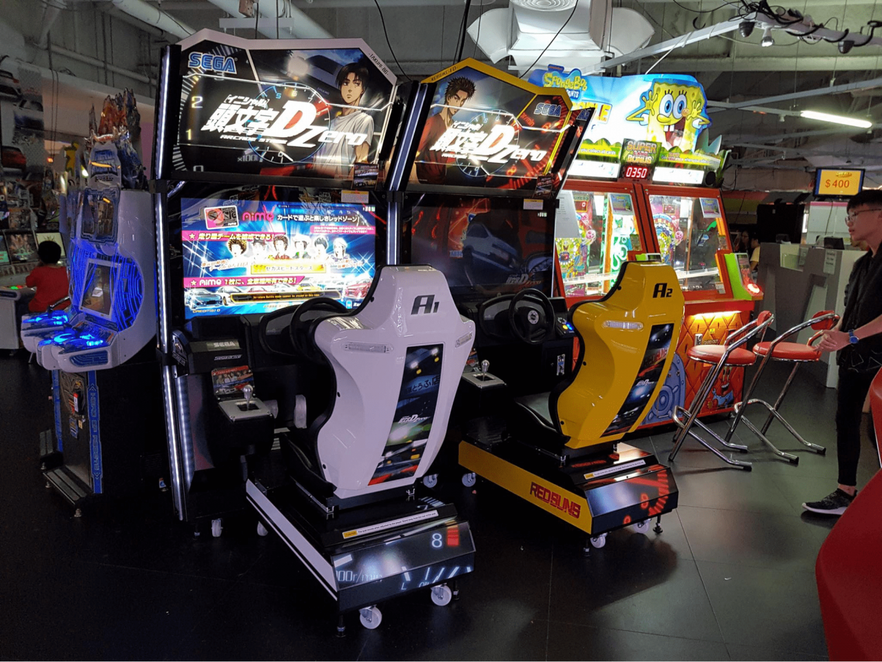 9 Arcades In Singapore With Your Fave Games Like Daytona