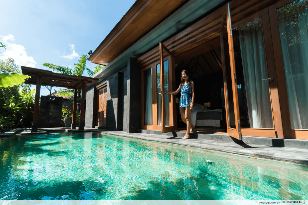 hotel indigo bali - private pool