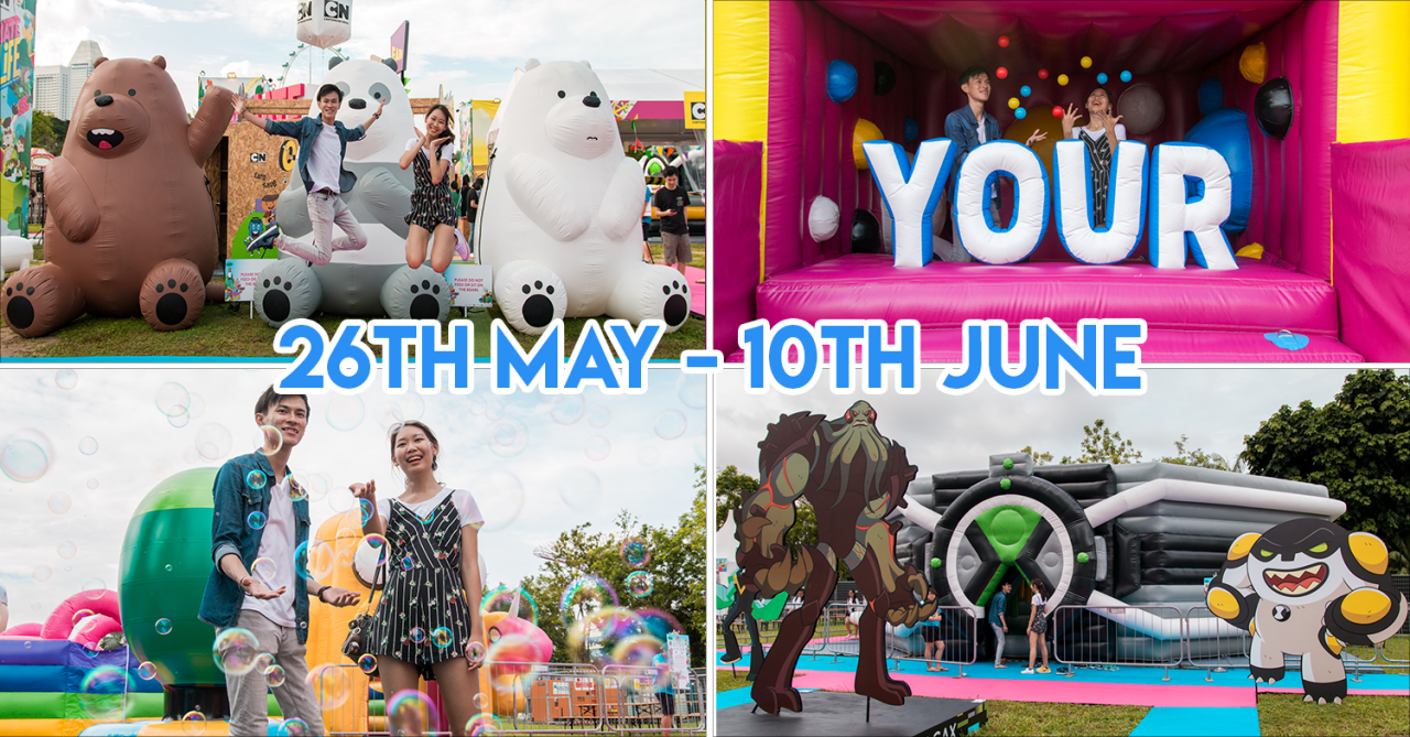 Cartoon Network Animate Your Life Is A Pop-up Festival With We Bare Bears And Powerpuff Girls