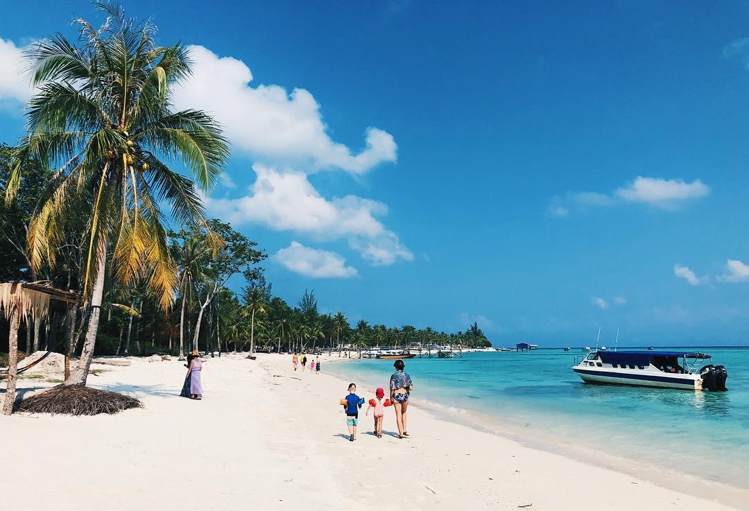 Mantanani Island Beach Kota Kinabalu