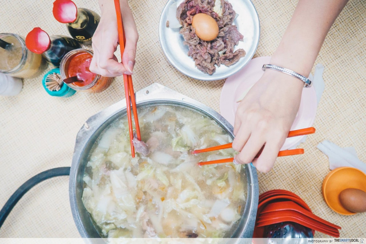 Chicken Steamboat