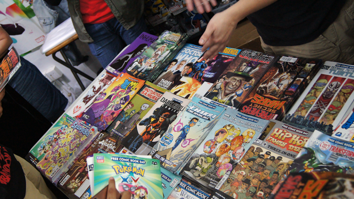 free comic books in singapore