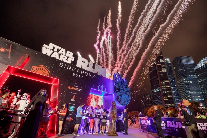 star wars run marina bay
