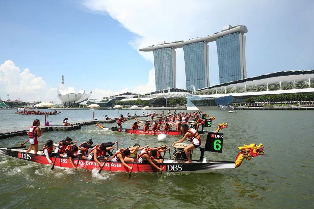 dbs regatta competition