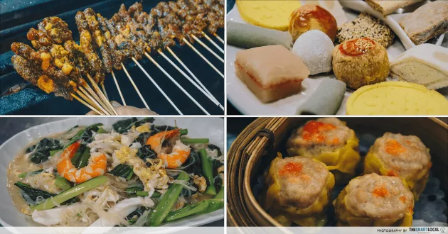 traditional hawker food in sembawang