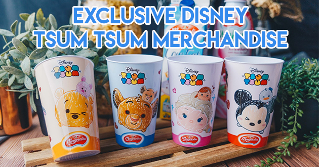 Exclusive disney Tsum Tsum Merchandise