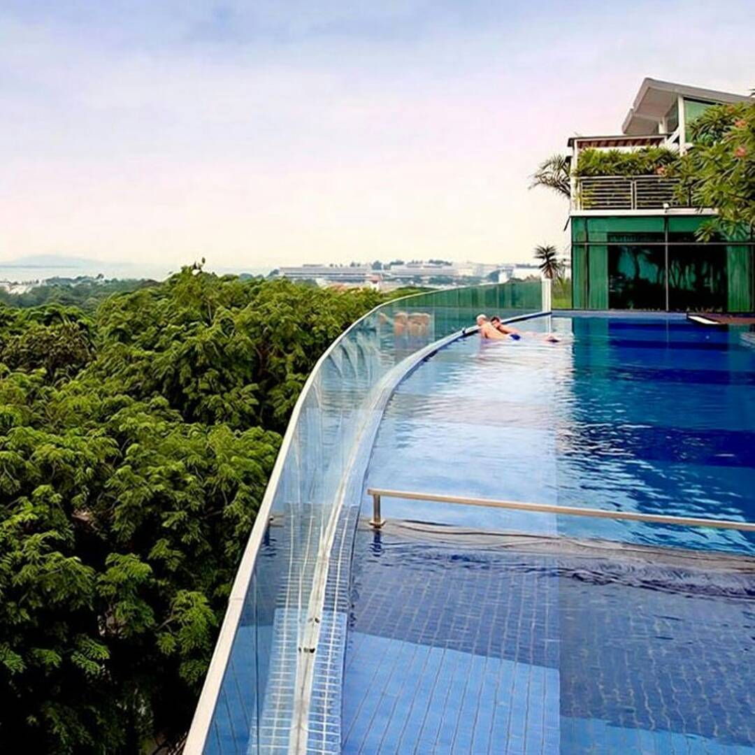 village hotel changi infinity pool singapore