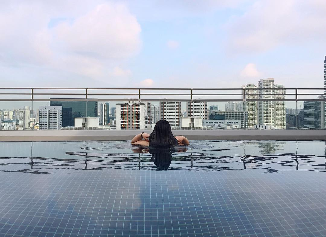 destination beach road singapore rooftop pool