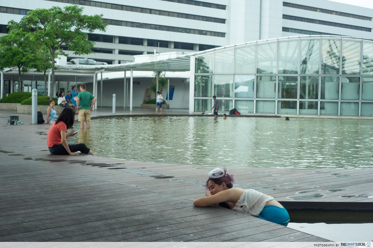 swimming in vivocity