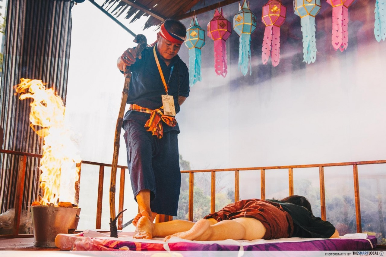 chiang mai fire massage