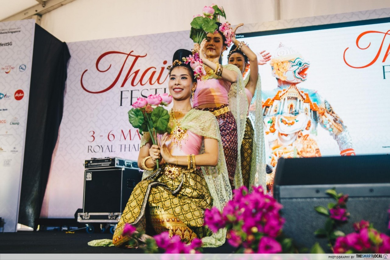 thai fest - traditional dance performance