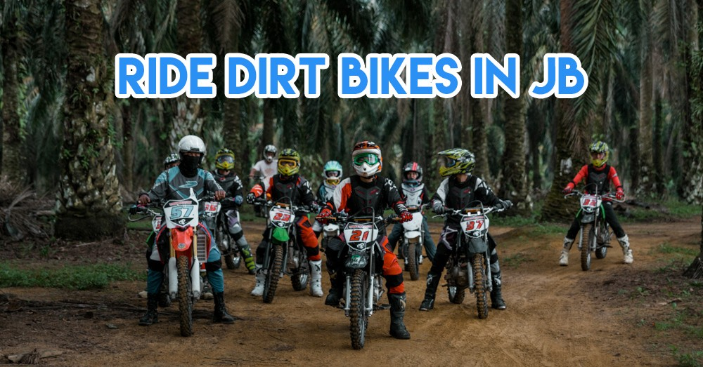 Tristan Park - Dirt Biking 20 Minutes From JB Central To Ride Like Power Rangers With Your Squad