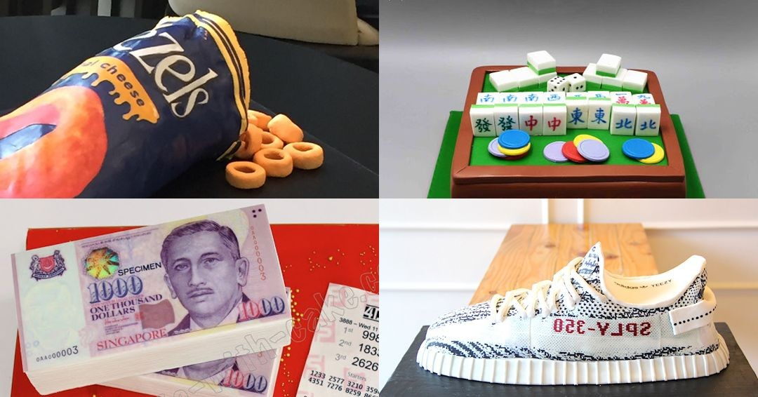 10 Most Outrageous Birthday Cakes In Singapore You Can Actually Customise To Troll Your Friends