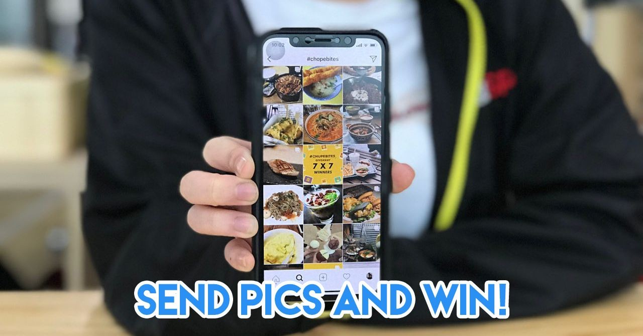 Send pictures and win Chope vouchers