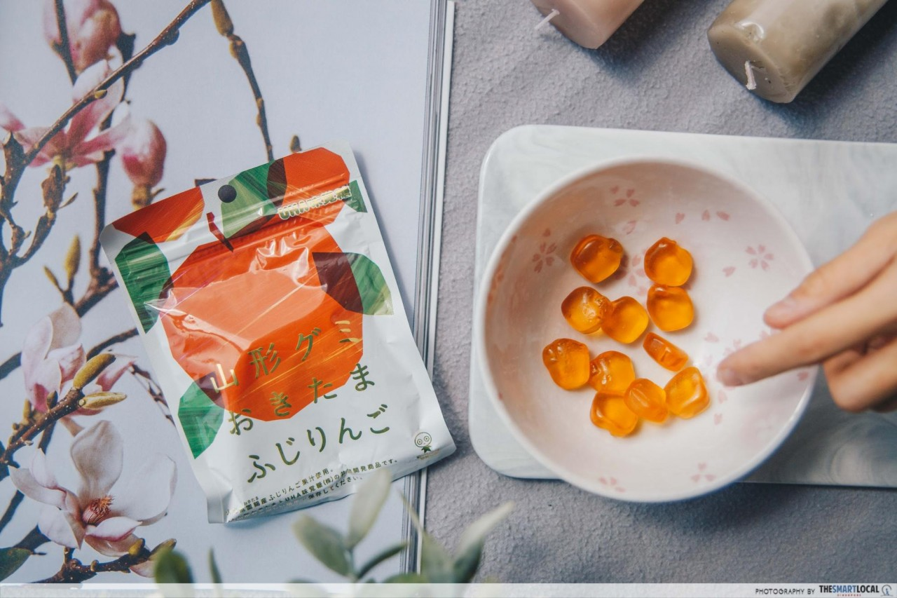 Japanese Snacks -  Fuji Apple Gummy