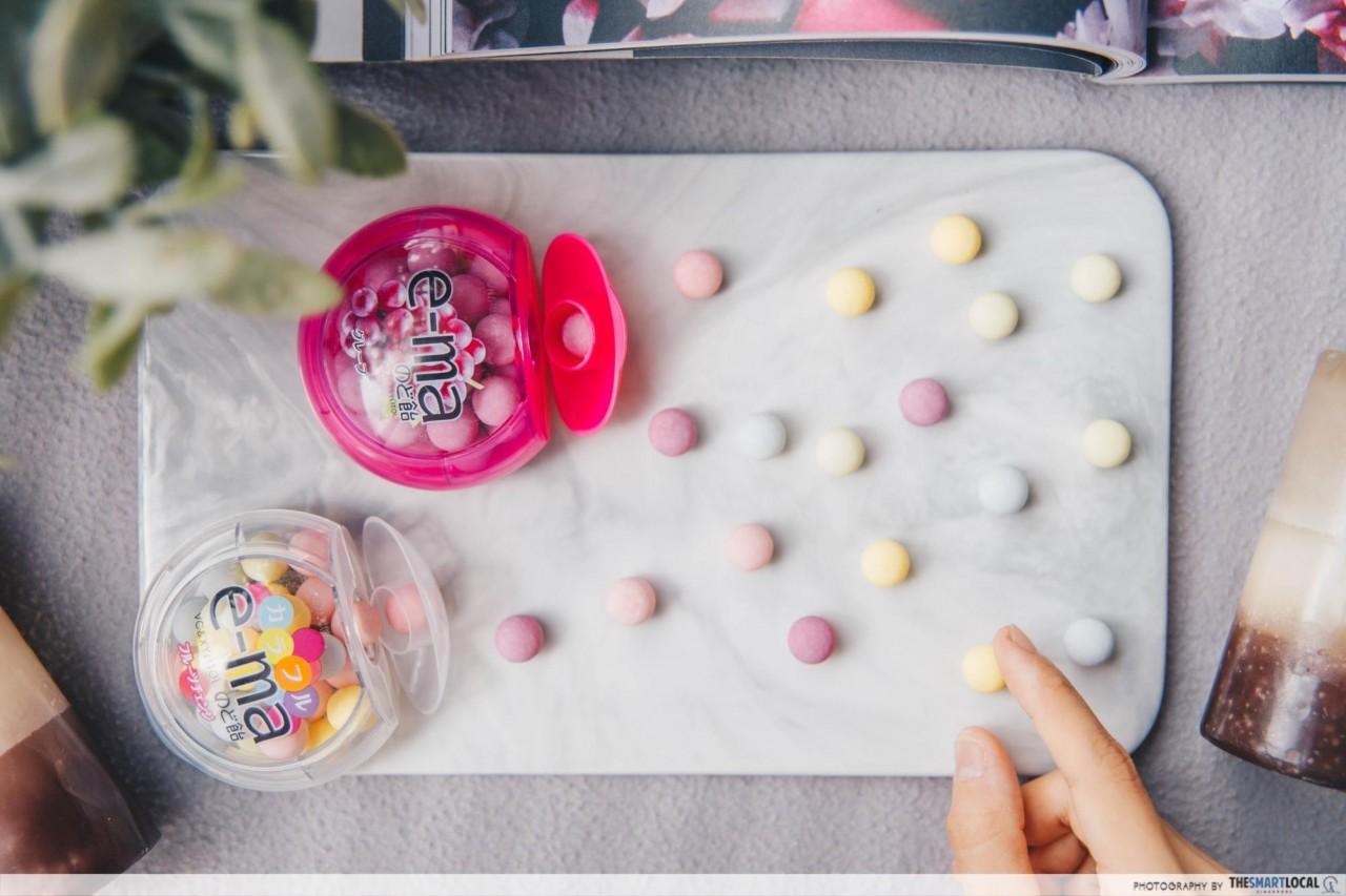 Japanese Snacks - e-ma candy