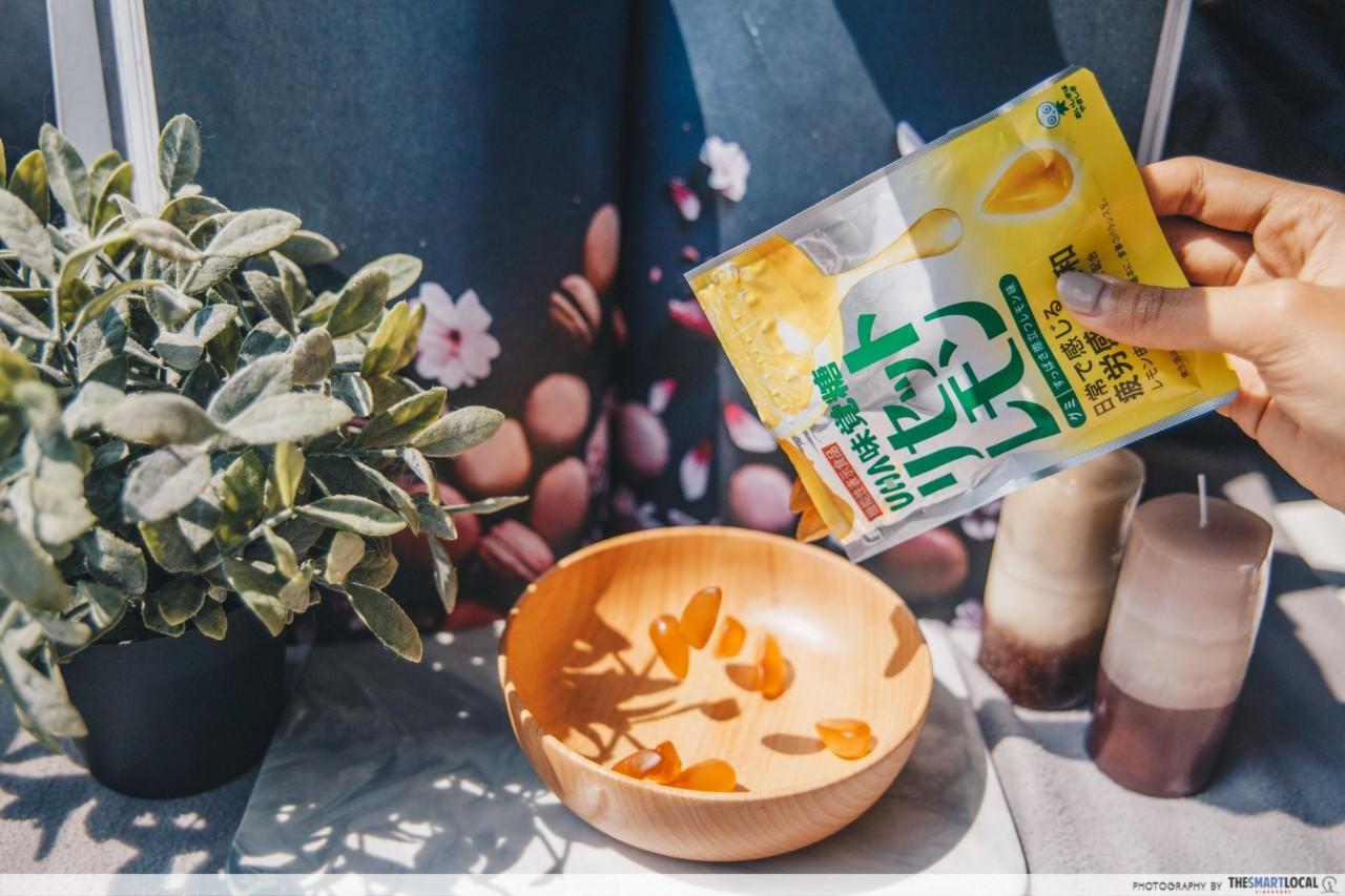 Japanese Snacks - Lemon Gummy