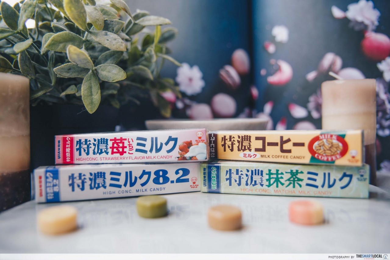 Japanese Snacks - High Concentrated Milk Candy flavours