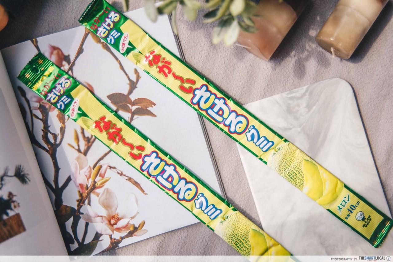 Japanese Snacks - Nagai Sakeru Gummy Melon