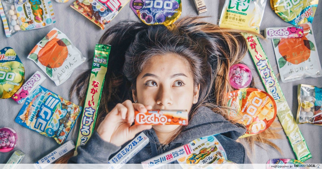 Japanese snacks in Singapore