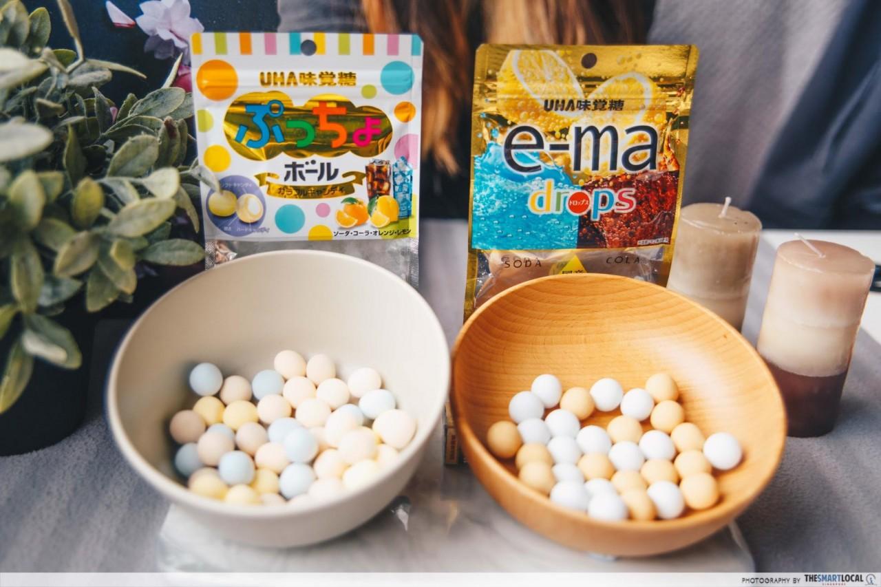 Japanese Snacks - e-ma drops & Puccho Ball