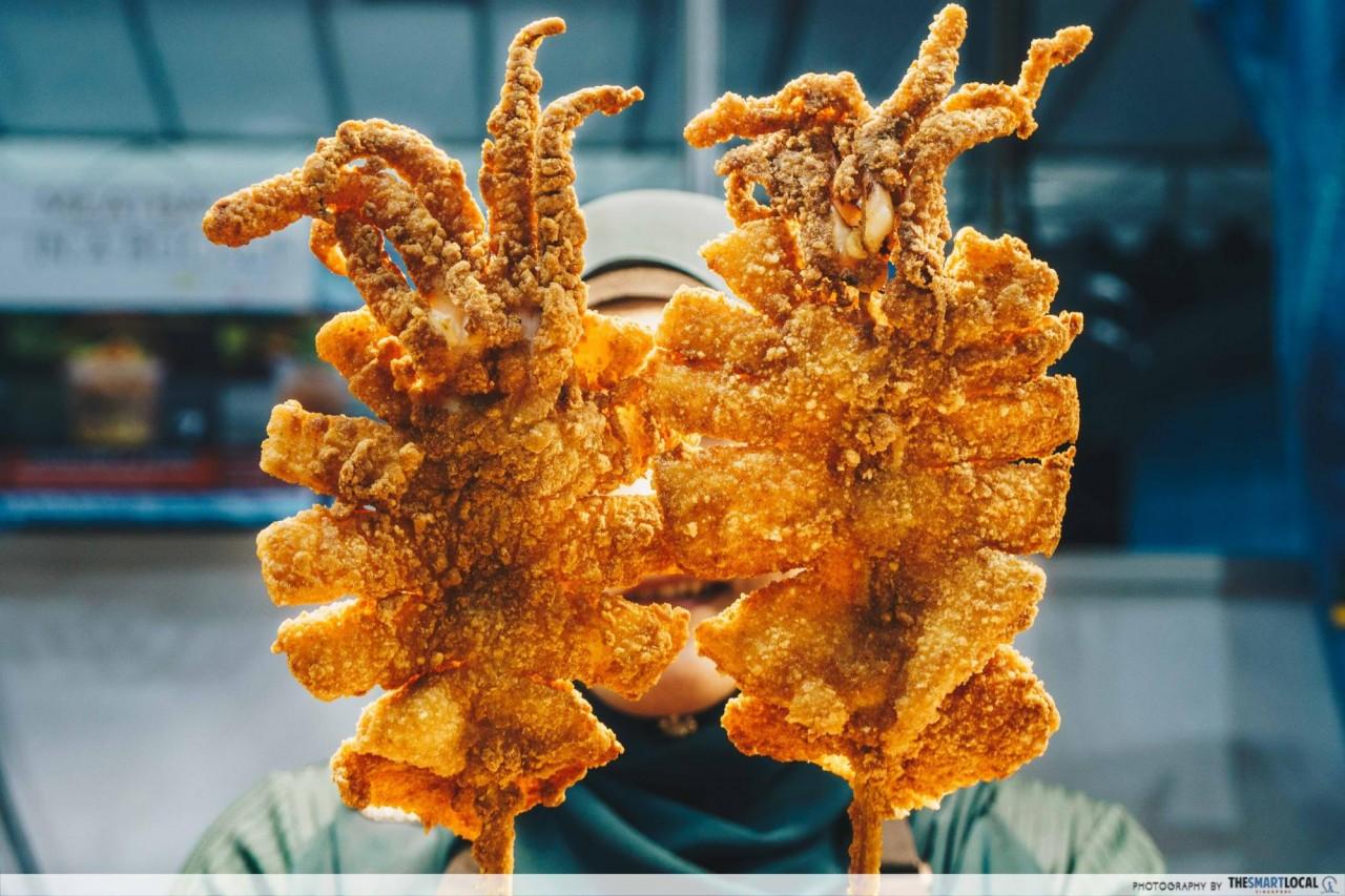 Geylang Ramadhan Bazaar 2018 - UTI Savoury Squids