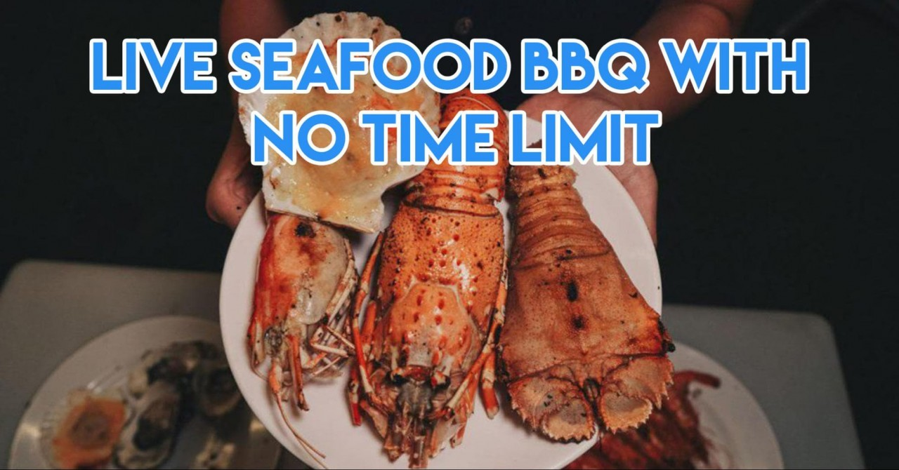 seafood bbq buffet with no time limit