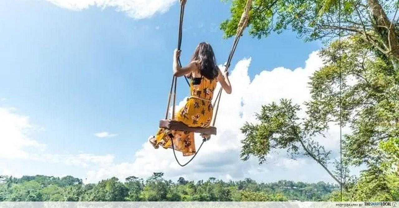 Bali Swing Mega Playground In Ubud With Giant Swings