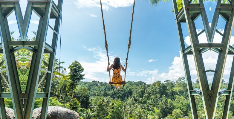 Bali Swing - Mega Playground In Ubud With Giant Swings That Go Up To 78m Above Ground