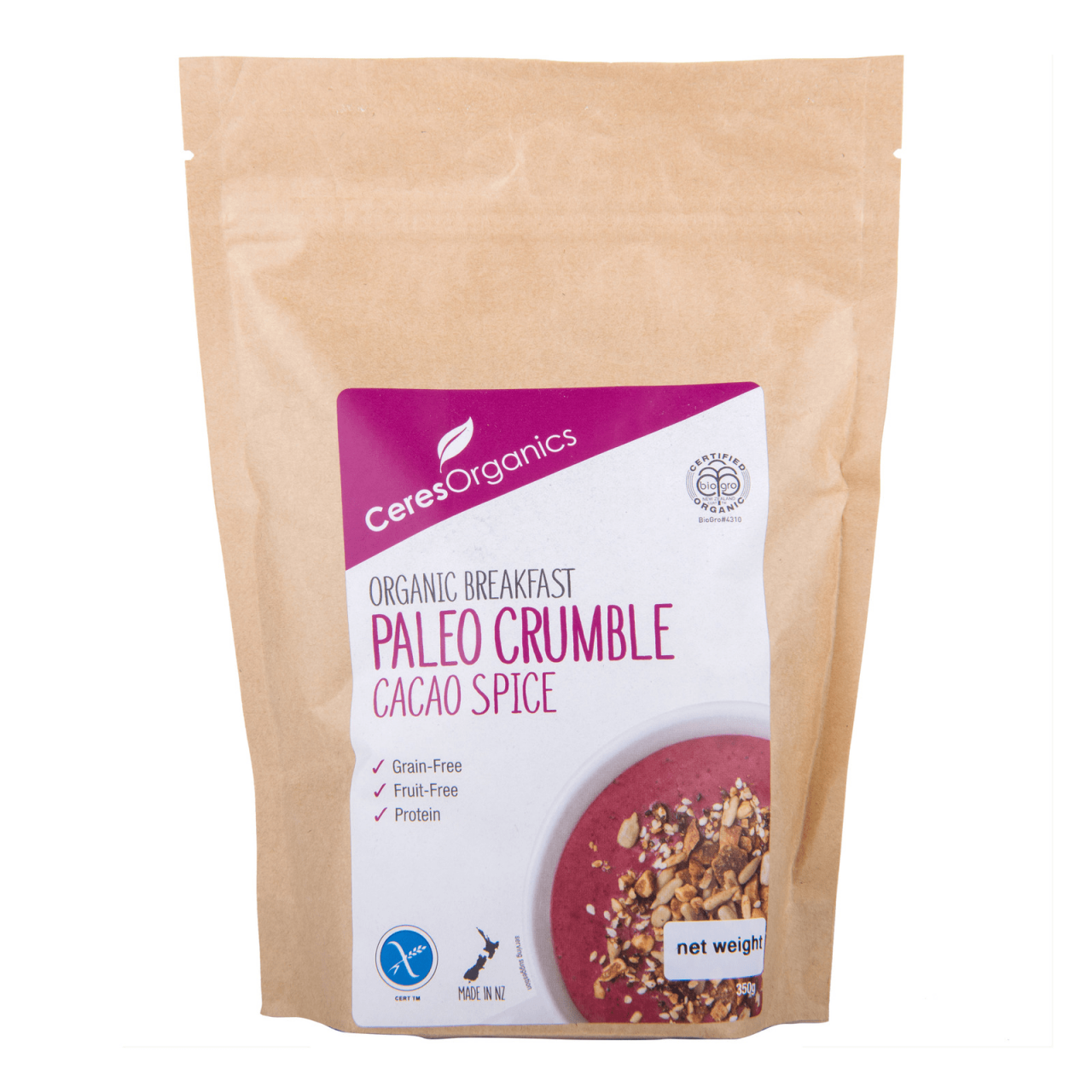 Fairprice On Paleco Crumble Cacao spice