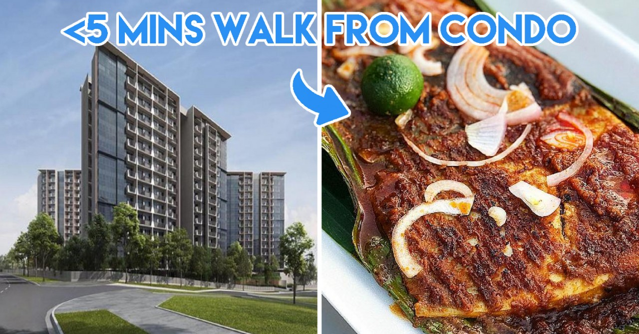 The Garden Residences Is A New Condo Minutes Away From Chomp Chomp