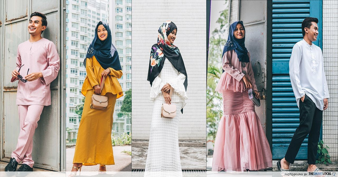 FashionValet - hari raya outfits collage