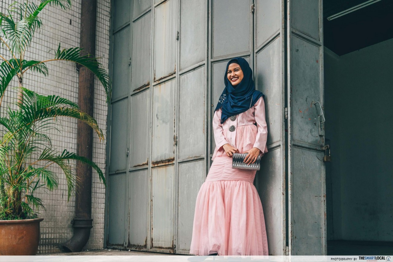 FashionValet - maxi kurung with ruffles
