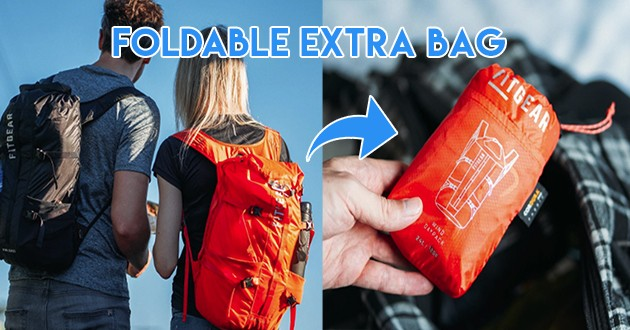 foldable extra bag