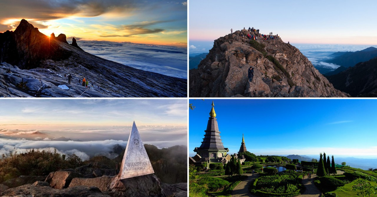 10 Highest Mountains To Climb Near Singapore If Bukit Timah Is No Kick For You